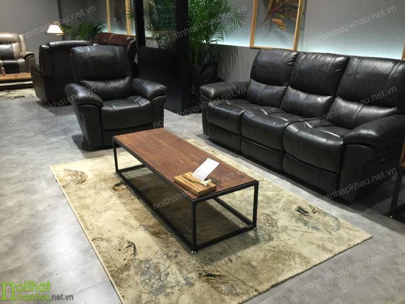 Ghế sofa văng đẹp sang trọng chất liệu da cao cấp