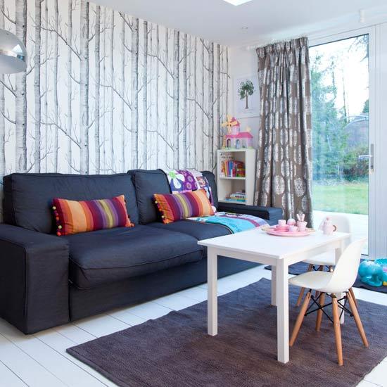 Ý tưởng thiết kế ghế sofa phòng khách gia đình thêm thu hút