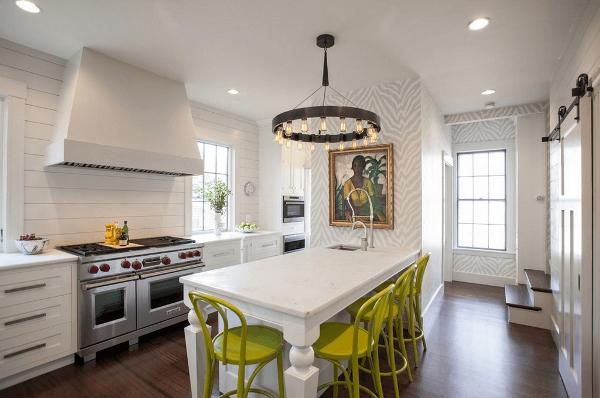 Thiết kế bàn ăn phòng khách tiết kiệm không gian cho bạn