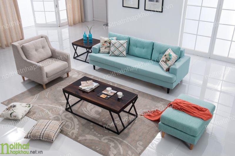 Sofa phòng khách phong cách bắc âu trẻ trung mới lạ tại Hà Nội