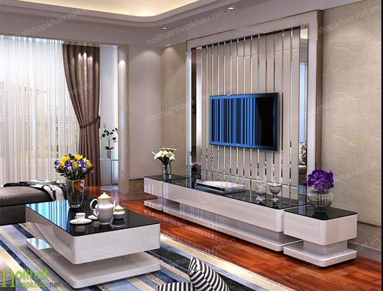 Sử dụng ti vi treo tường tiết kiệm diện tích cho phòng khách nhỏ