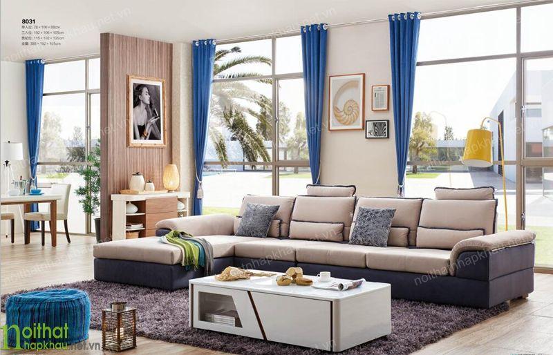 Kiểu dáng ghế sofa ảnh hưởng đến giá cả