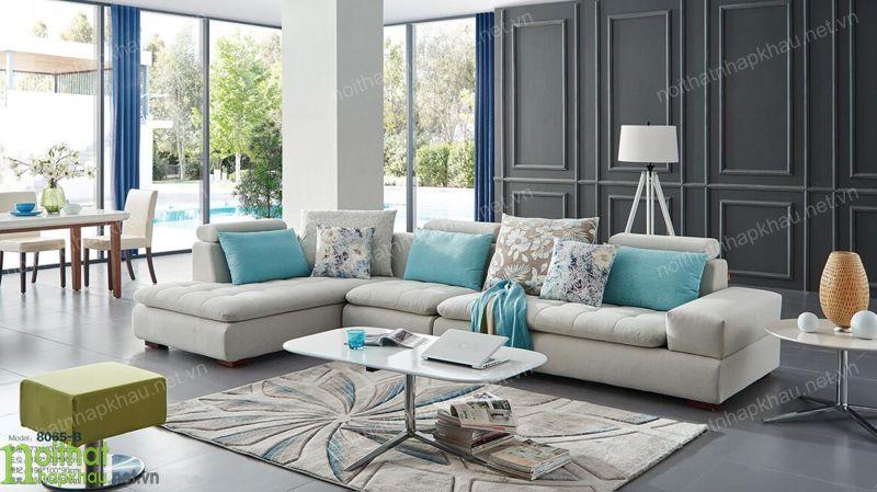 sofa nỉ 8065b