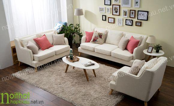 Ghế sofa chữ u thoải mái, tiện nghi