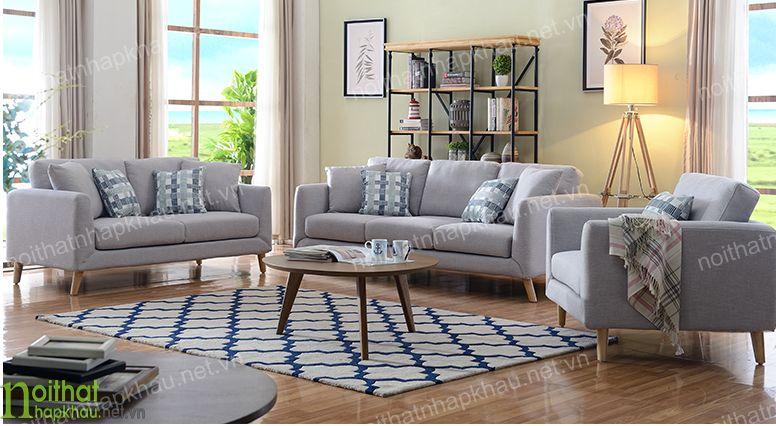 Mẫu sofa văng nỉ theo phong cách hiện đại, êm ái, dễ chịu