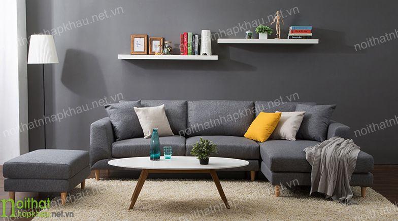 Ghế sofa bọc vải mang lại cảm giác dễ chịu nhất cho người sử dụng