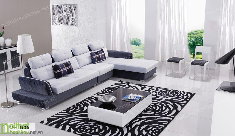 Sofa phòng khách nỉ B06