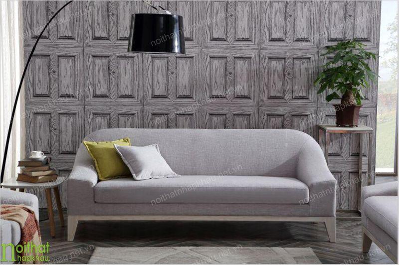 Ghế sofa văng nhỏ gọn cho căn phòng khách hẹp