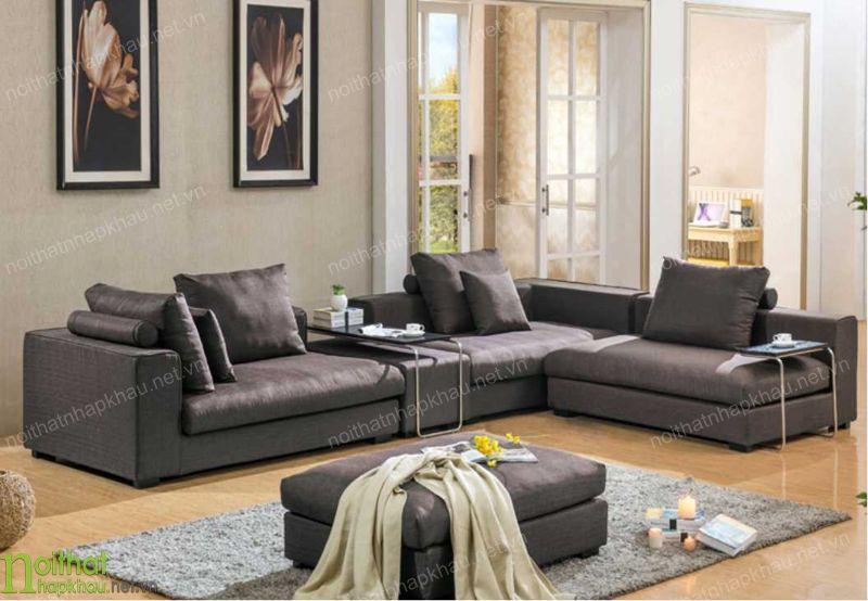 Sử dụng màu sơn tường và ánh sáng trong căn phòng khách phù hợp với bộ sofa