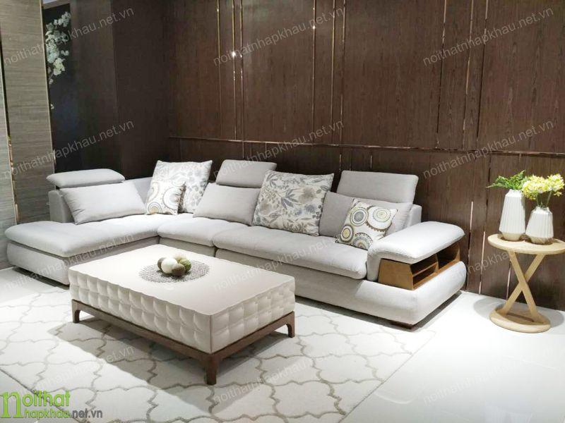 Hướng dẫn chọn ghế sofa phòng khách làm từ chất liệu nỉ cao cấp