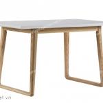bàn ăn phong cách scandinavian dt02