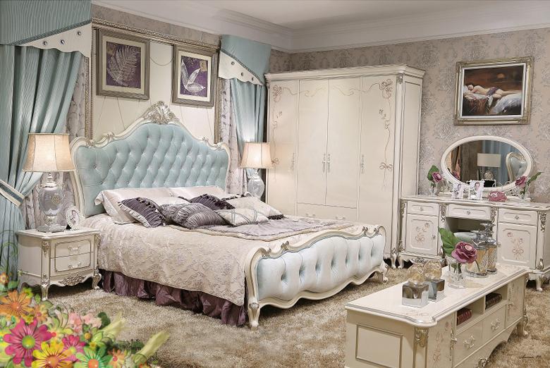 Giường ngủ tommy sơn ngọc trai 8802