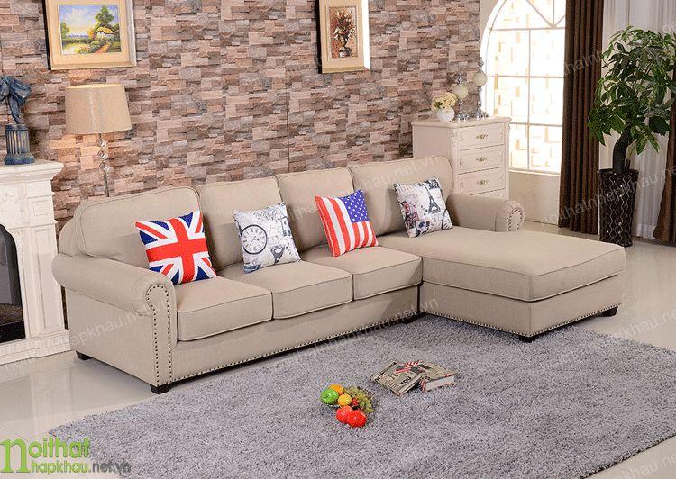 Bộ sofa vải êm ái, dễ chịu