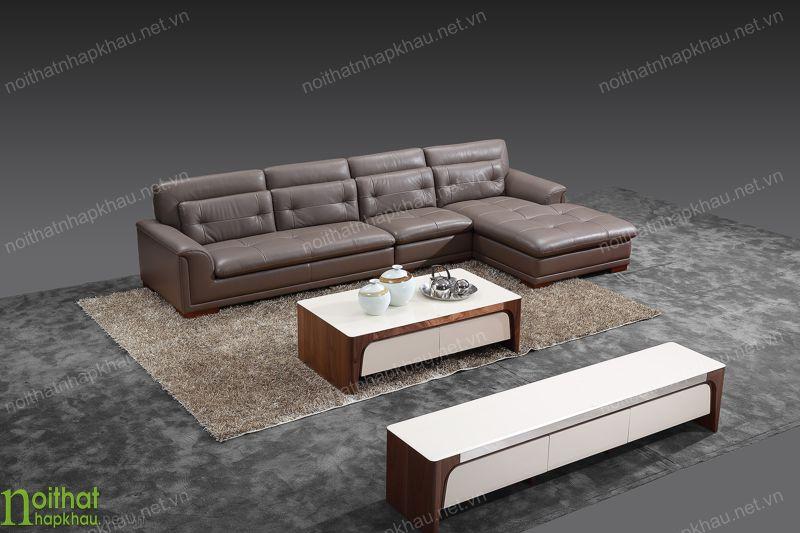 Cách bảo quản bộ sofa da phòng khách khỏi ẩm mốc, bụi bặm