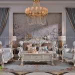 Sofa cổ điển cao cấp D3002