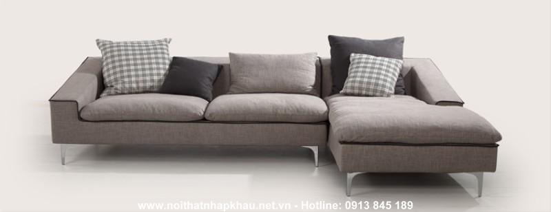 Sofa nỉ nhập khẩu 8006
