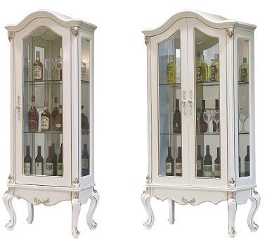 Tủ rượu đôi tommy sơn ngọc trai 6601