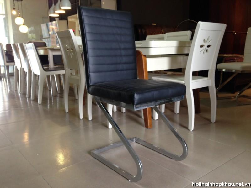 Ghế bàn ăn Y03 đen