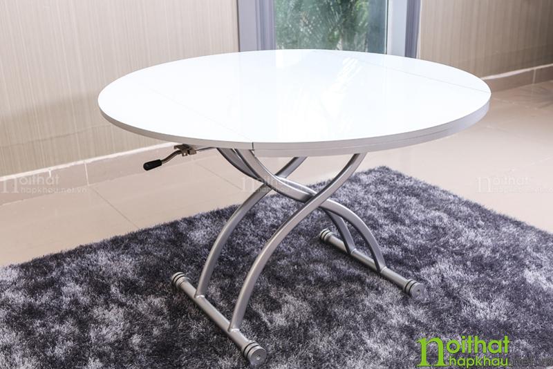 Những mẫu bàn ăn tròn thông minh siêu tiết kiệm diện tích