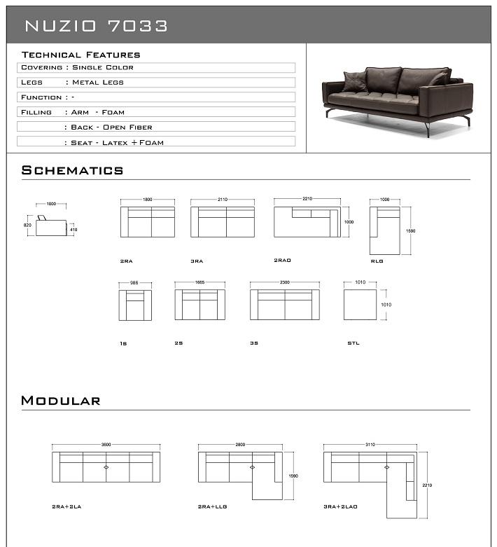 bản vẽ Sofa nhập khẩu malaysia 7033