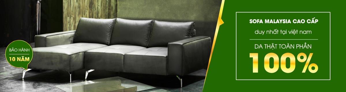 Sofa nhập khẩu Malaysia cao cấp