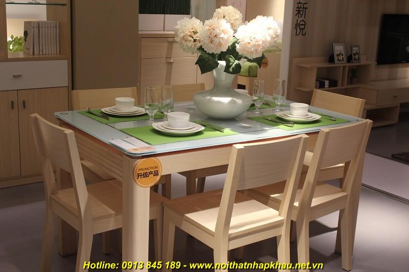 Vì sao bạn nên lựa chọn bàn ăn gỗ hiện đại cho gian bếp gia đình