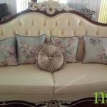 ghế ba sofa cổ điển B0418