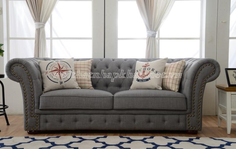 Sofa văng màu trầm hiện đại