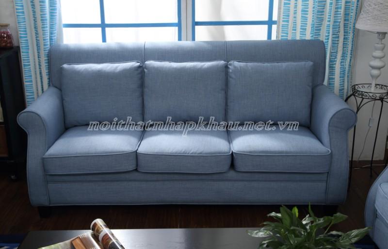 Sofa cổ điển châu âu 6006-xanh