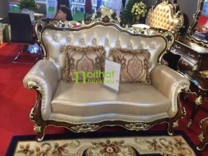 ghế đôi sofa cổ điển dz14