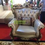 ghế đơn sofa cổ điển dz14