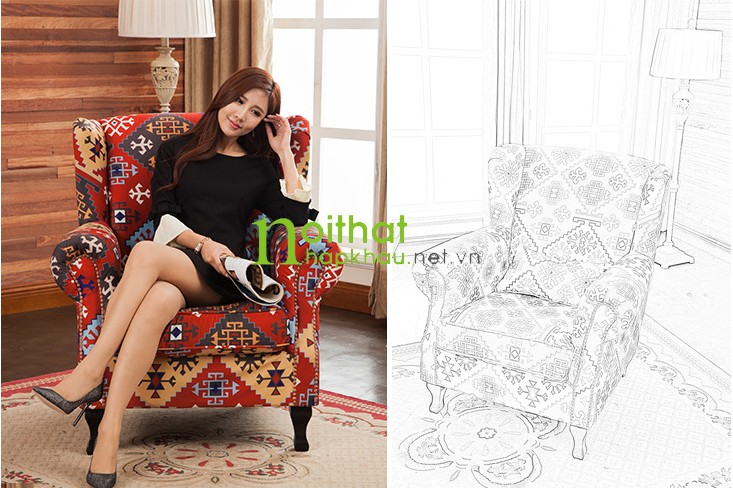 Ghế sofa đơn 103