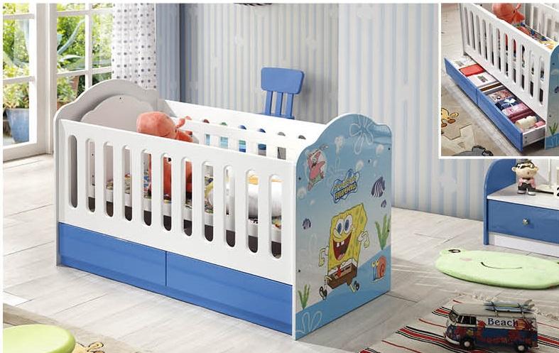 Giường cũi cho bé K008
