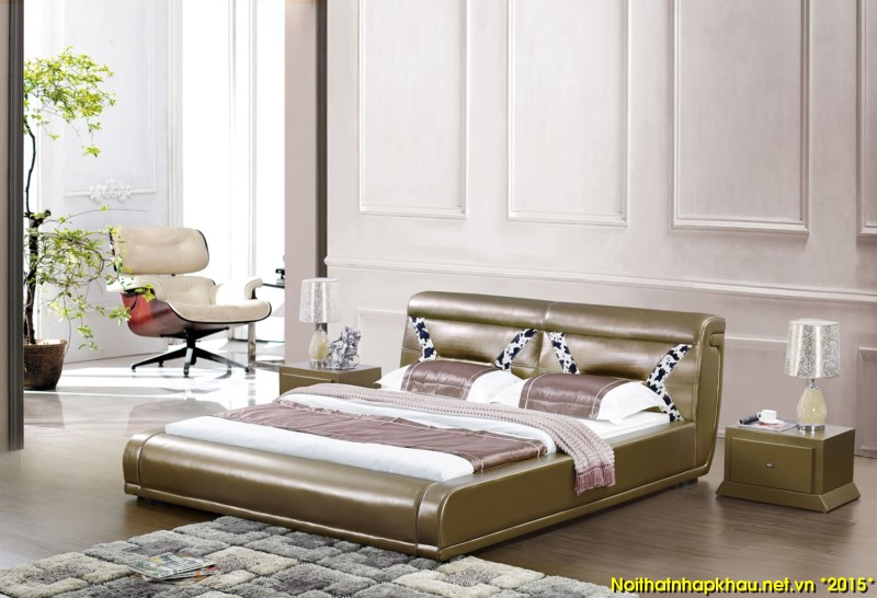 Giường da đẹp 710