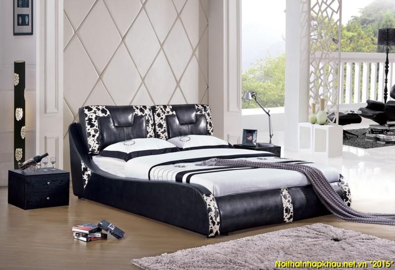Giường da đẹp 711