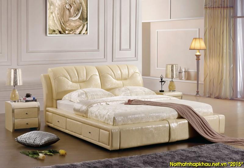 Giường da đẹp 719-1