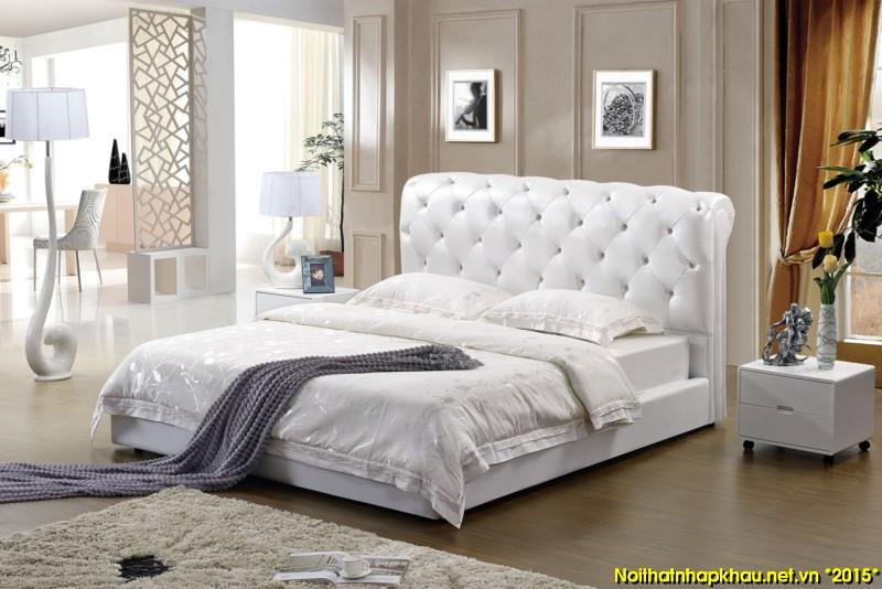 Giường da đẹp 9059