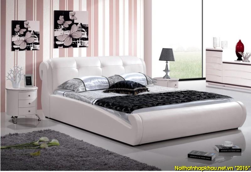 Giường da đẹp A811