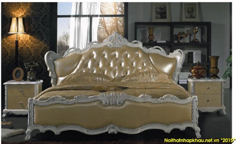 Giường da đẹp C10