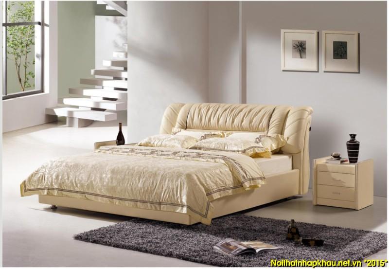 Giường da đẹp C6011