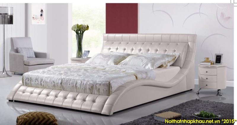 Giường da đẹp S-1017