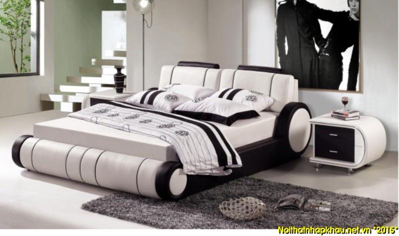 Giường da đẹp TJ35