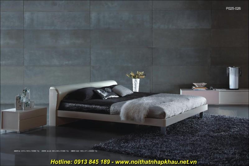 Giường ngủ đẹp 4A019