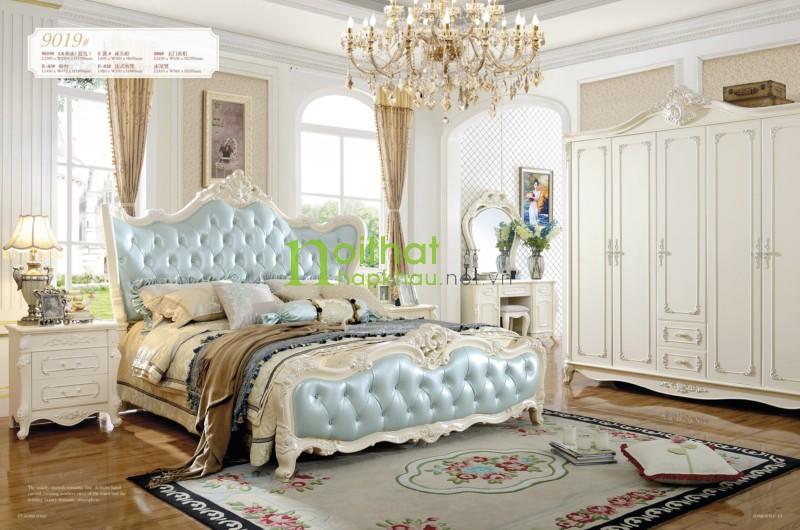 Giường ngủ đẹp 9019