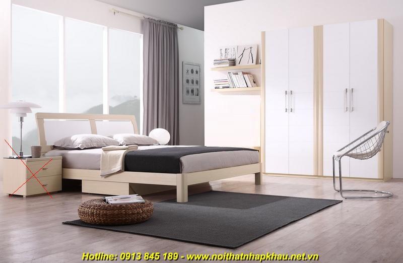Giường ngủ đẹp F3022D