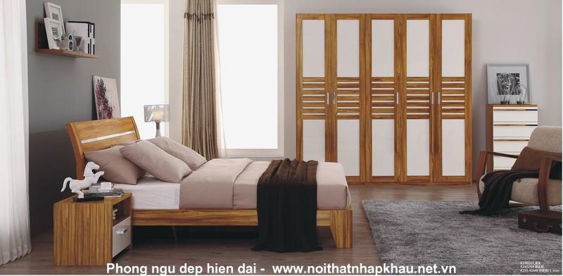 Giường ngủ laminate K2302D