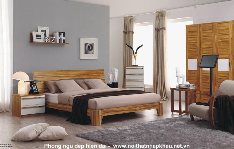 Giường ngủ laminate K2304D
