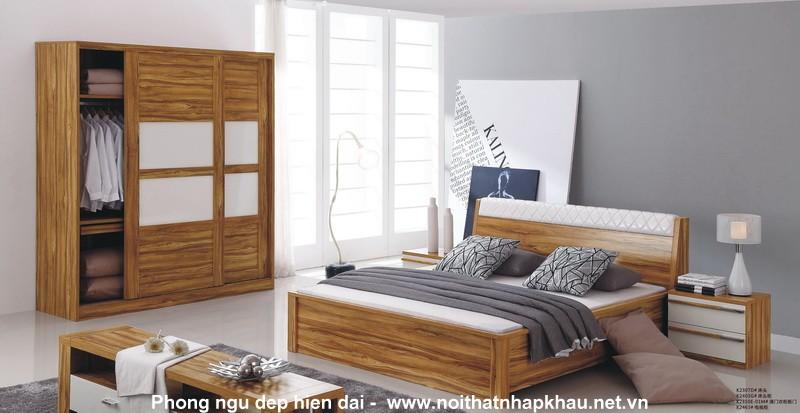 Giường ngủ laminate K2307D