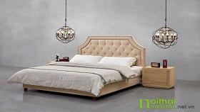 Giường ngủ bọc nỉ SK13