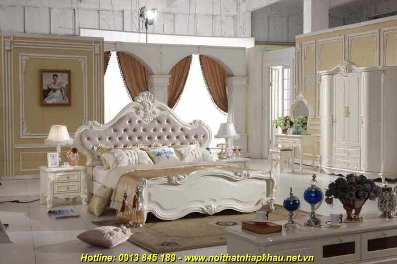 Giường ngủ đẹp 916